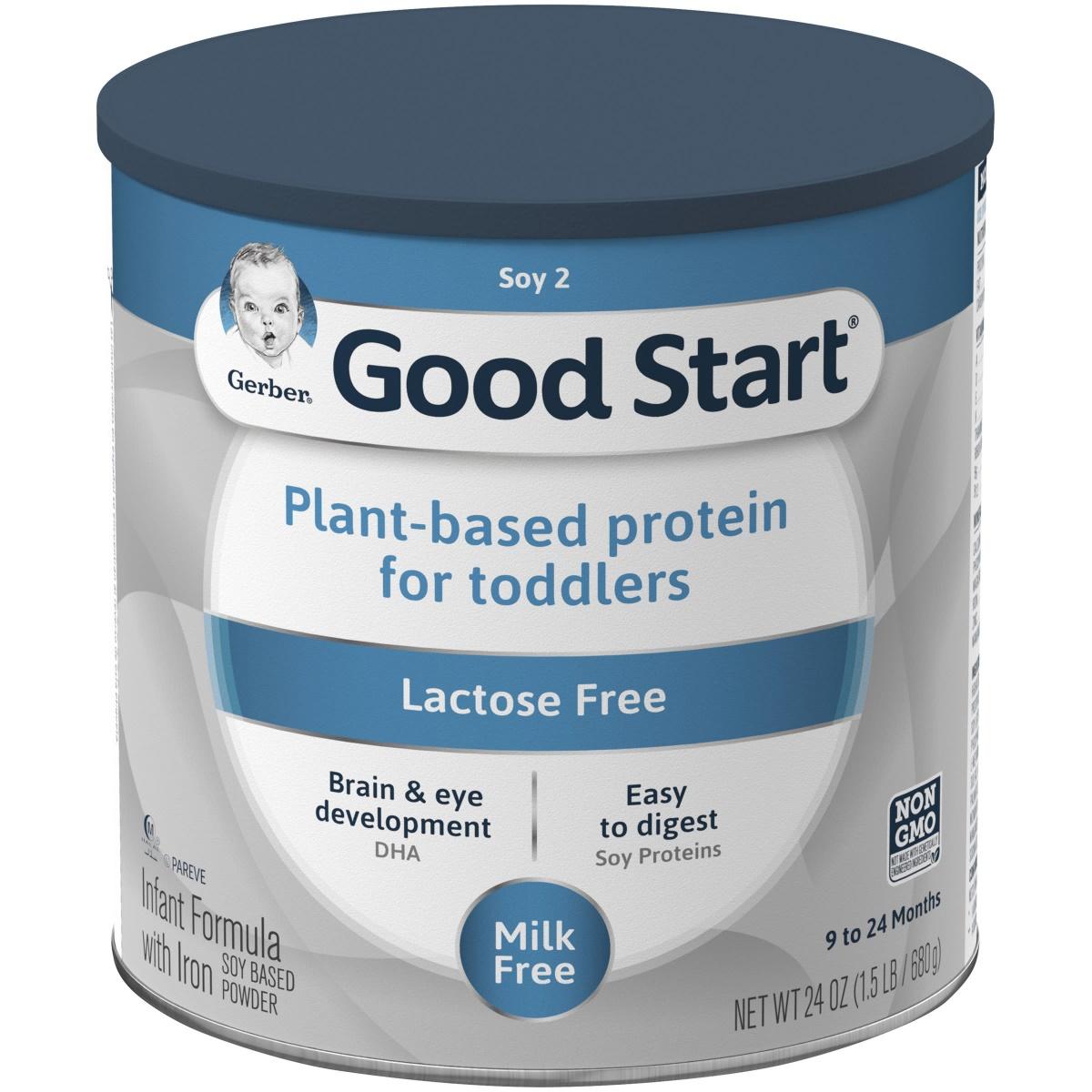 "Gerber's ""Good Start"" transition formula product"