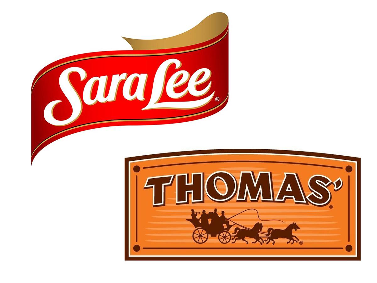 Sara Lee and Thomas' logos