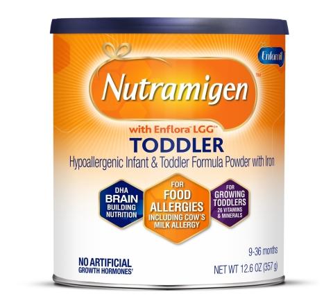 """Nutramigen """"toddler"""" formula"""