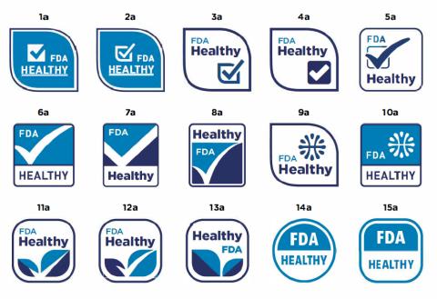 FDA healthy logos