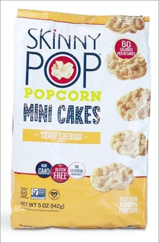 Skinny Pop Popcorn Mini Cakes Snacks